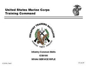 United States Marine Corps Training Command Infantry Common