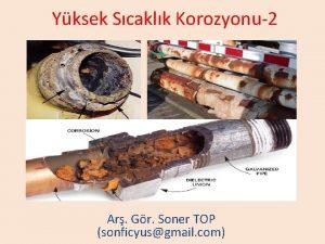 Yksek Scaklk Korozyonu2 Ar Gr Soner TOP sonficyusgmail
