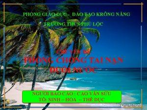PHNG GIO DC O TO KRNG NNG TRNG