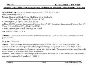 May 2015 doc IEEE 802 15 15 0340