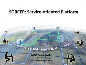 SORCER Serviceoriented Platform Mike Sobolewski sobolsorcersoft org http