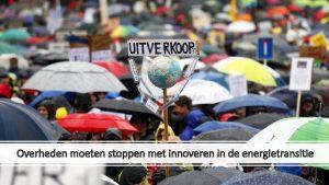 Overheden moeten stoppen met innoveren in de energietransitie