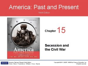 America Past and Present Ninth Edition Chapter 15