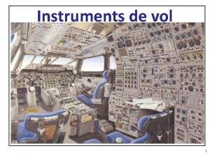 Instruments de vol 1 Instruments 2 1 3