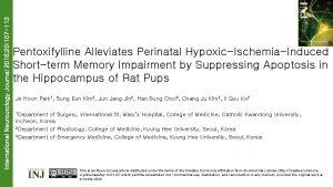 International Neurourology Journal 2016 20 107 113 Pentoxifylline