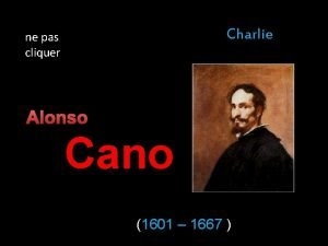 Charlie ne pas cliquer Alonso Cano 1601 1667