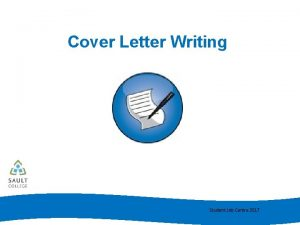 Cover Letter Writing Student Job Centre 2017 Cover