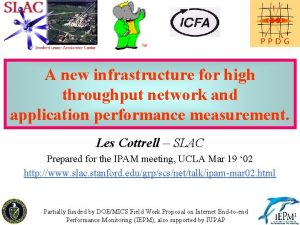 A new infrastructure for high throughput network and