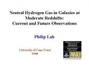 Neutral Hydrogen Gas in Galaxies at Moderate Redshifts