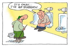 Main Entry diarrhea Etymologie Grieks diarrhoia dia rhein