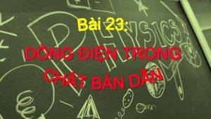 I CHT BN DN TNH CHT C BN