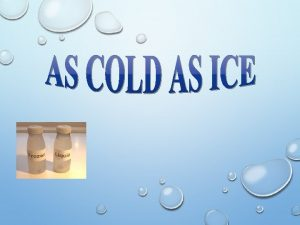 WHICH LIQUID FREEZES THE FASTEST TAP WATER WATER
