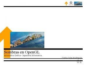 Sombras en Open GL Informtica Grfica Ingeniera Informtica