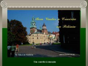 Um convite emoo Cracvia situada na Polnia s