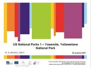 US National Parks 1 Yosemite Yellowstone National Park