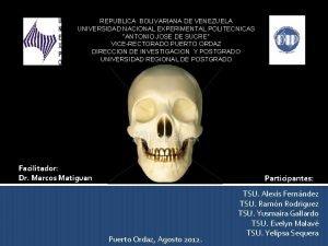 REPUBLICA BOLIVARIANA DE VENEZUELA UNIVERSIDAD NACIONAL EXPERIMENTAL POLITECNICAS