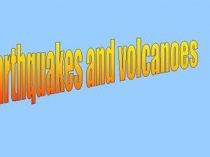 What is an earthquake An earthquake is a