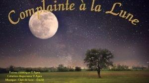Pome cosmique Apex Cration diaporama Apex Musique Clair
