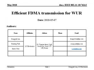 May 2018 doc IEEE 802 11 18762 r