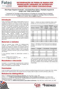 DETERMINAO DE PERDA DE MASSA POR DESSECAO UMIDADE