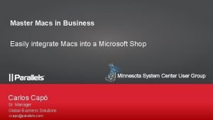 Master Macs in Business Easily integrate Macs into