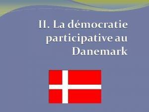 La dmocratie participative La possibilit de crer des