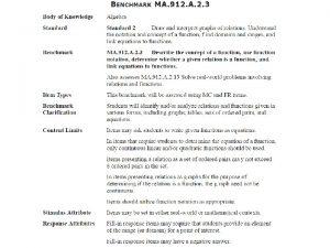 MA 912 A 2 3 Describe the concept