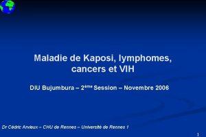DIU 2008 Maladie de Kaposi lymphomes cancers et