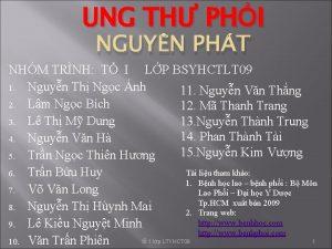 UNG TH PHI NGUYN PHT NHM TRNH T