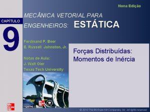 Nona Edio MEC NICA VETORIAL PARA CAPTULO 9