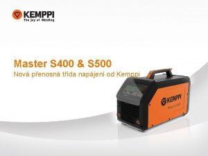 Master S 400 S 500 Nov penosn tda