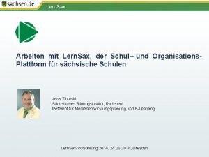 Arbeiten mit Lern Sax der Schul und Organisations