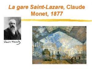 La gare SaintLazare Claude Monet 1877 IDENTIFIER Le