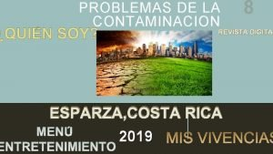 PROBLEMAS DE LA CONTAMINACION 8 REVISTA DIGITAL DIGITA