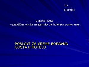 713 20122104 Virtuelni hotel prktin obuk nstvnik z