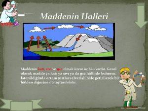ADDENN HALLER Maddenin Halleri Maddenin kat sv ve