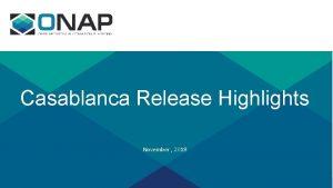 Casablanca Release Highlights November 2018 Casablanca Highlights Release
