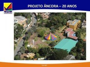 PROJETO NCORA 20 ANOS Copyright HISTRICO 23 de