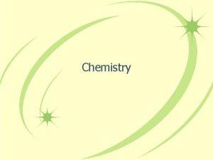 Chemistry Chemistry Overview Inorganic Organic Biochemistry Analytical Matter