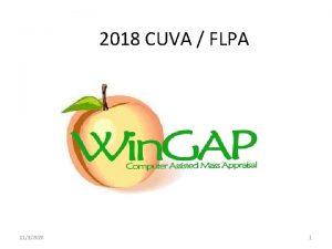2018 CUVA FLPA 1132020 1 Part 1 1132020