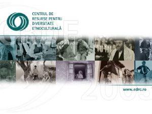 Misiunea CRDE este de a contribui la construcia