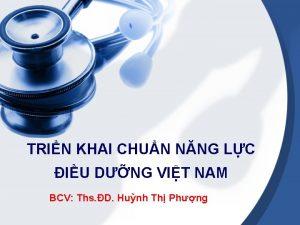 TRIN KHAI CHUN NNG LC IU DNG VIT