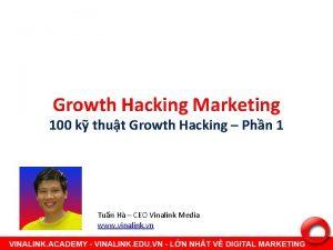 Growth Hacking Marketing 100 k thut Growth Hacking
