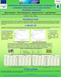 Extraction de polyphnols et dautres composs caractre antioxydant