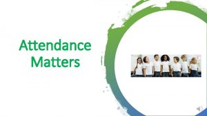 Attendance Matters Why Is Attending School Regularly Important
