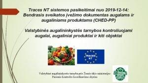 Traces NT sistemos pasikeitimai nuo 2019 12 14
