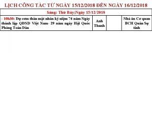 LCH CNG TC T NGY 15122018 N NGY