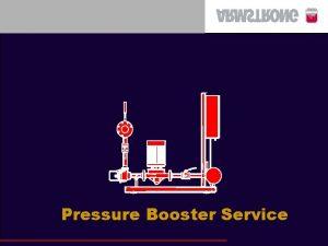 Pressure Booster Service Booster Service Basics Control Panel