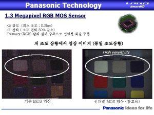 Panasonic MOS Sensor 1 Panasonic MOS sensor SPSF