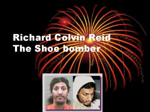 Richard Colvin Reid The Shoe bomber Takeoff Richard
